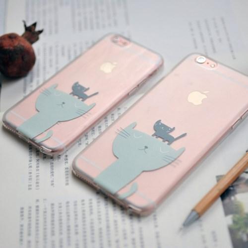 [아이폰6/6S, 6/6S플러스] 두냥이 케이스