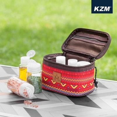카즈미 스파이시박스 S K5T3K001 / 캠핑 양념통 감성 캠핑용품