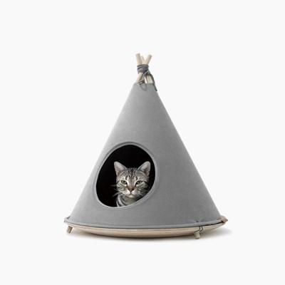 인히어런트 초코텐트 강아지 고양이 하우스