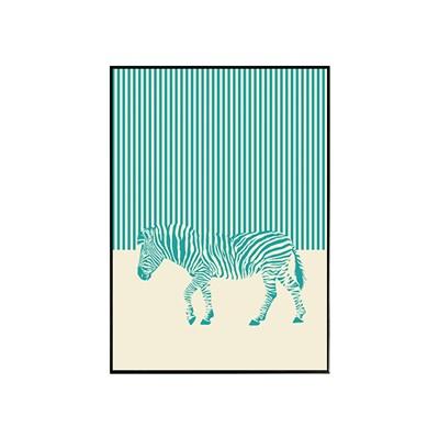 에포크 - Zebra (30*40) framed