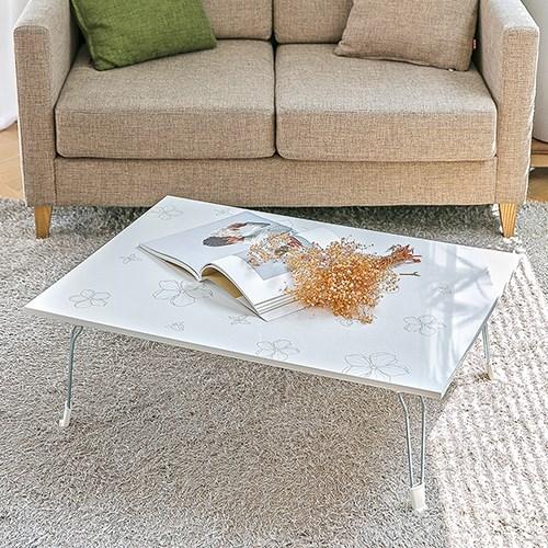 화이트 정원 다용도 테이블