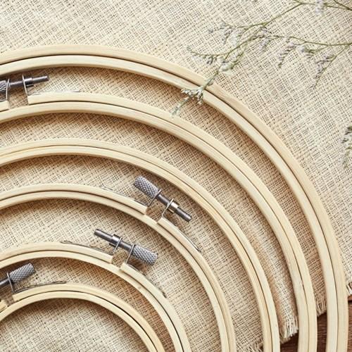 대나무 원형수틀