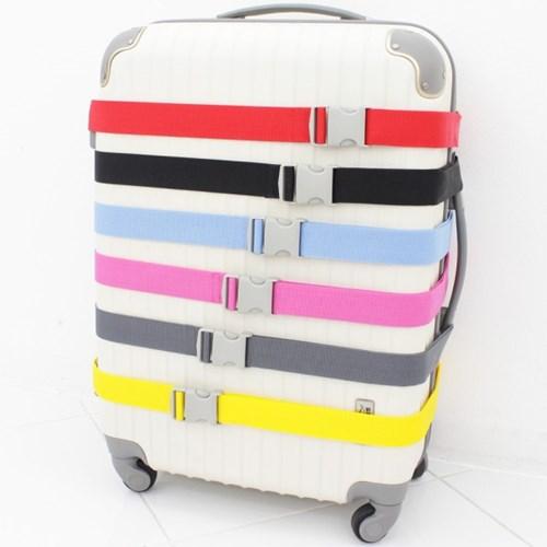 [TCUBE] 국내생산 여행가방 컬러 보호벨트 - 6 COLOR