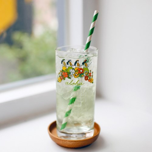 커먼키친 Retro Aloha glass with Kangyang