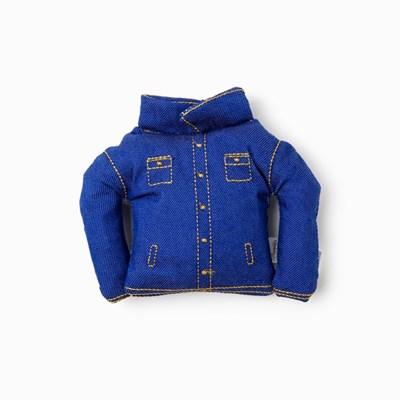 [PetToy] Squeaky Blue Jacket (청자켓)빠스락삑삑