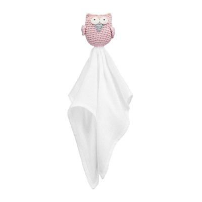 [메이릴리] 부엉이 수더인형-핑크 아울(애착인형)