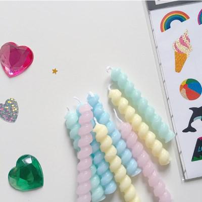 Pastel Twist Mini Candle 파스텔트위스트캔들