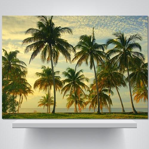 쿠바의 해변 - 감성사진 폼보드 액자