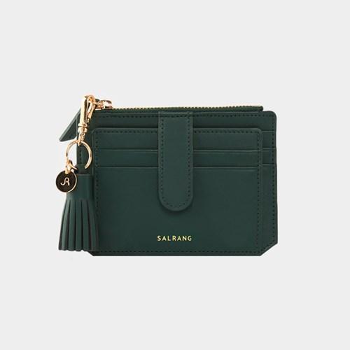 [태슬증정][살랑]Dijon 301S Flap Card Wallet olive green