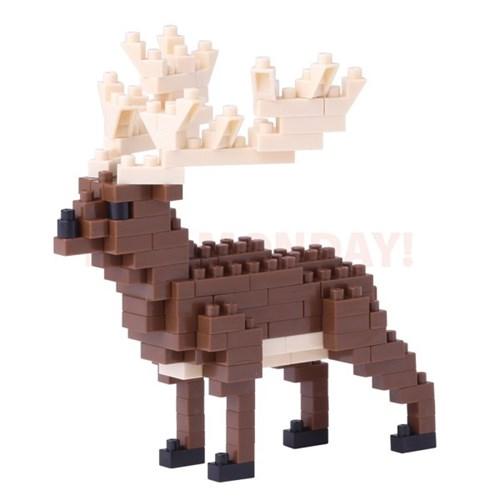 [나노블럭] 큰뿔사슴
