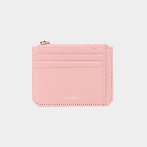 [미니태슬증정]Dijon M201 Flap mini Card Wallet light pink