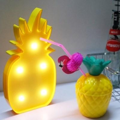 이비자 파인애플 조명 램프 마퀴라이트조명