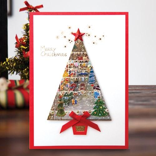 크리스마스카드 츄리 FS1025-2