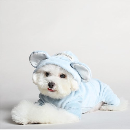 ANIMAL SERIES TEDDY_BABY BLUE