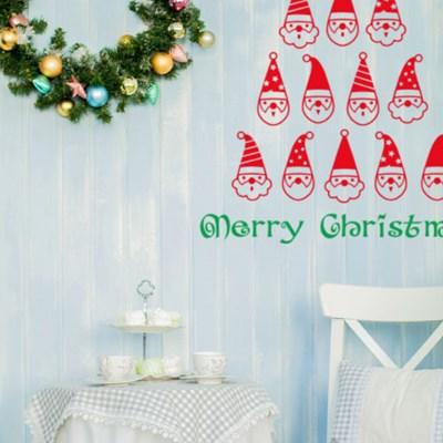 크리스마스스티커 헬로우산타