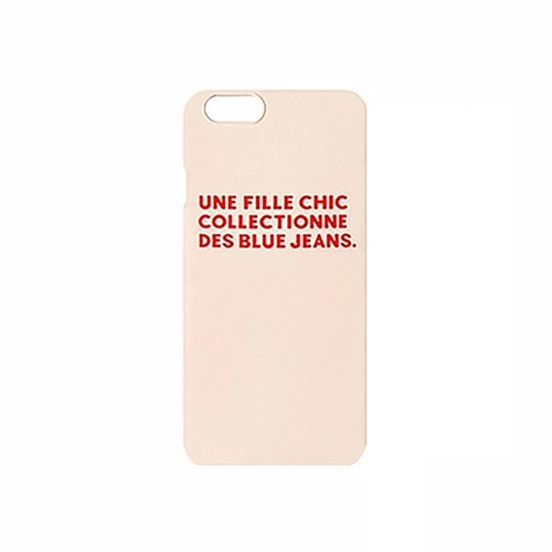 Fille Chic iPhone case