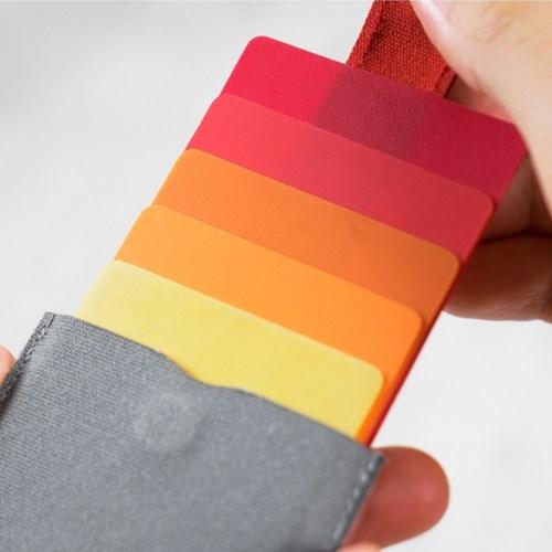 DAX/초슬림 카드지갑 명함지갑 슬라이드방식