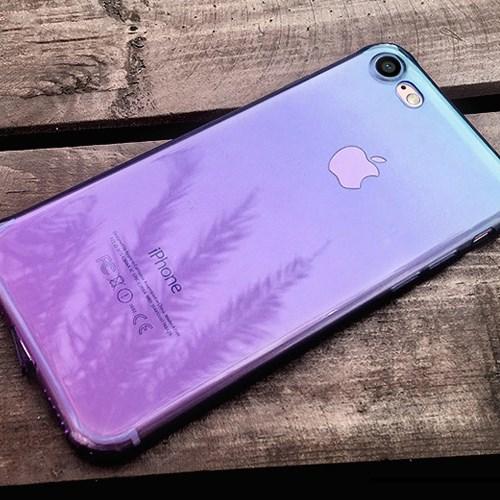 아이폰7 그라데이션 젤 하드 케이스 아이폰7 7플러스