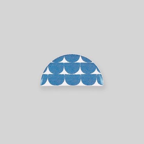 Ocean blue wave choprest