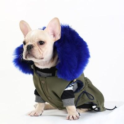 MY SWEET WINTER PARKA 마이 스윗 윈터 야상(COBALT BLUE)