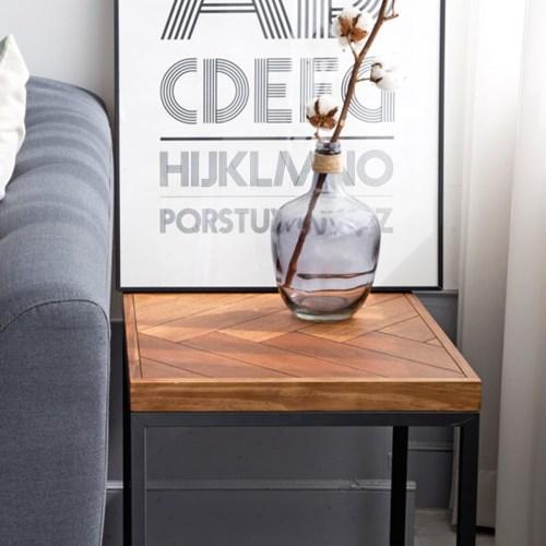 헤링본 시리즈 사이드 테이블