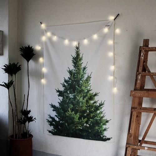 초대형 크리스마스 트리 태피스트리 / 패브릭 포스터