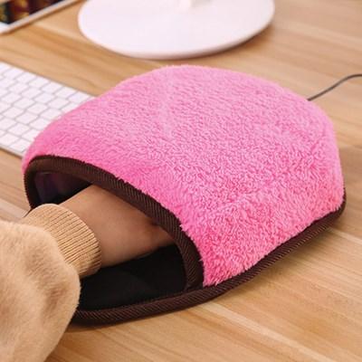 빅포켓 USB 온열 마우스 패드 & 손목쿠션