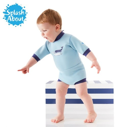 수영기저귀 일체형 아기수영복 해피내피 웨트슈트(빈티지모비)