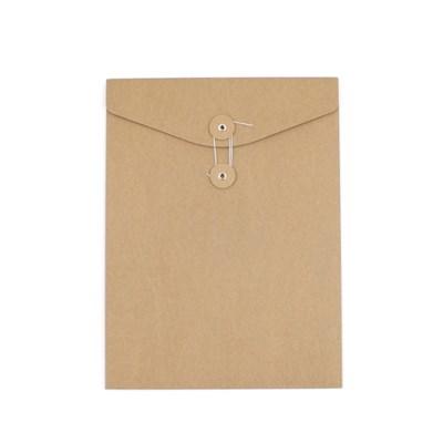 종이 단추 봉투 (세로형) - A4