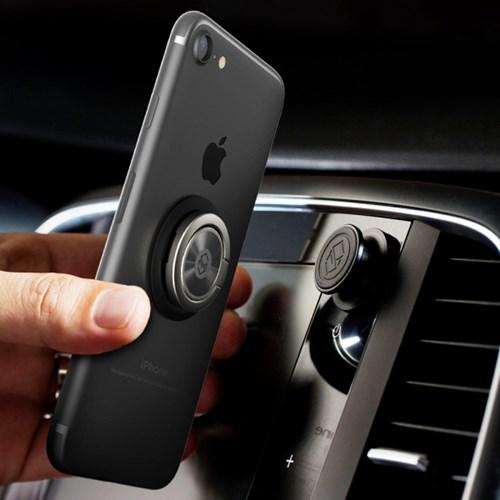 신지모루 차량용 마그네틱 링고 배꼽 스마트폰