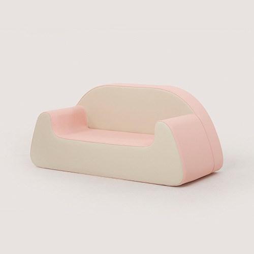 스몰비 디자인랩 아기쇼파 까두 2인용 | 핑크