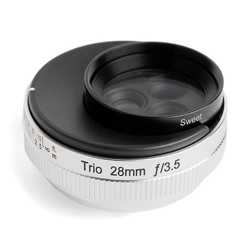 LENSBABY 렌즈베이비 TRIO 28mm 3in1(벨벳,트위스트,스윗) LENS