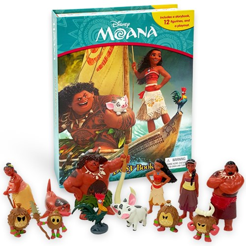 Disney Moana My Busy Book 피규어북