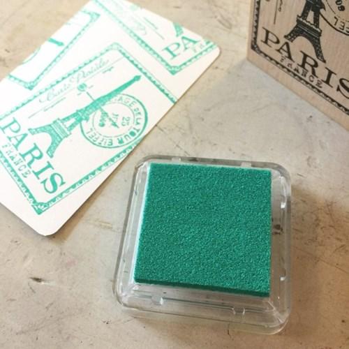 촉촉한 pigment inkpad - Jade