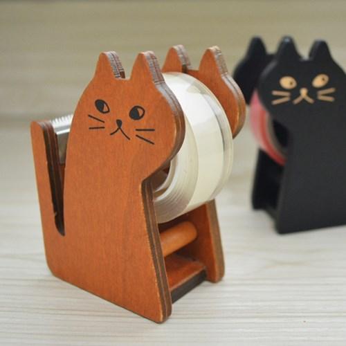 고양이 나무 테이프 홀더_(588012)