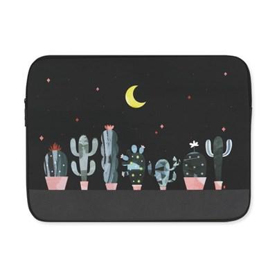 Cactus in the night (아이패드/11/13/15인치) 노트북파우치