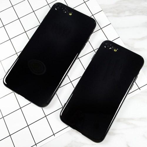 엘바 아이폰7 제트블랙 하우징 젤리케이스