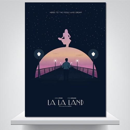 LALA LAND - 감성그림 폼보드 액자