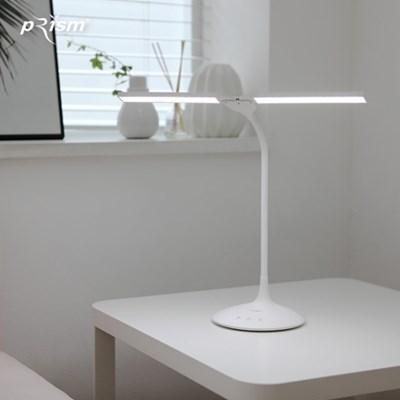 프리즘 충전식 무선 LED 스탠드 PL-1400WH
