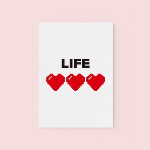 Life - POSTCARD
