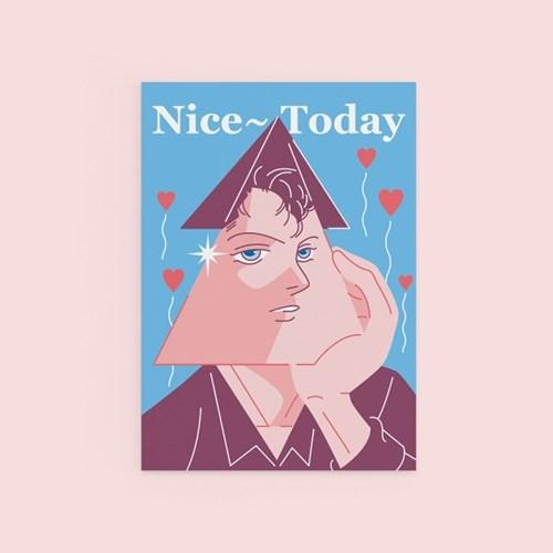 Nice Today - POSTCARD