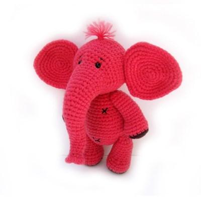 [손뜨개 DIY]손뜨개인형-날아라코끼리