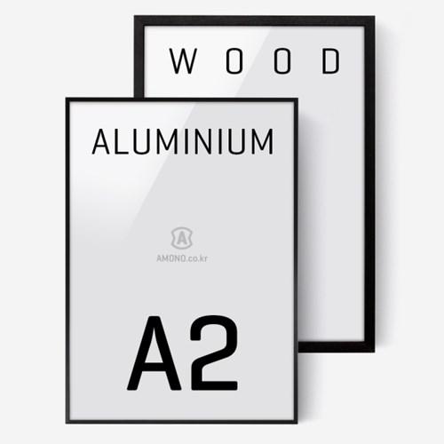 에이모노 A2 액자 - 블랙