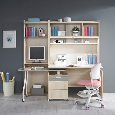 [꿈꾸는요셉]이큐 회전책상SET+ 600책장(일반탑+책상+회전책상+600책