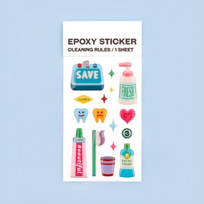 EPOXY STICKER_CLEANING RULES