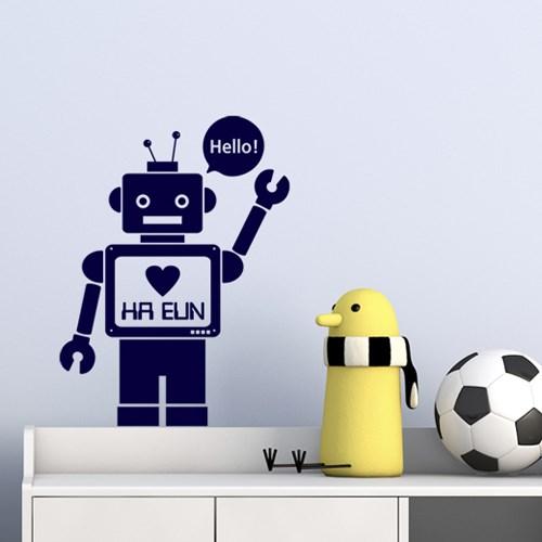 네임스티커 _ 로봇 (주문제작)