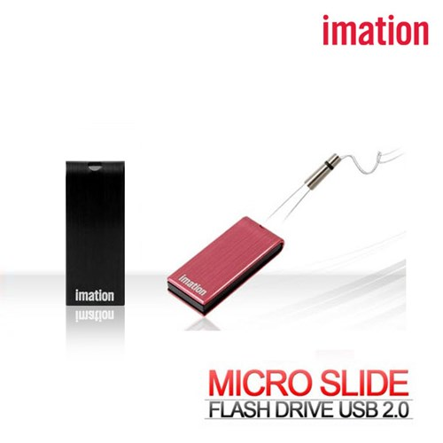 imation 이메이션 Micro Slide USB 마이크로 슬라이드