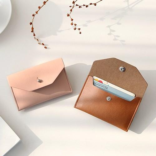 더블 포켓 카드지갑