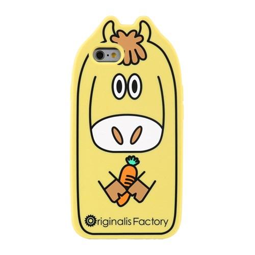 Candies 동물 아이폰6s/6 실리콘 케이스-말 [325-101581]