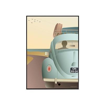 EPOK- 비틀(VW Beetle)50*70  framed